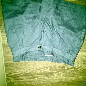 Denied shorts with pockets